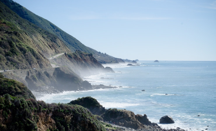 photo of the big sur coast