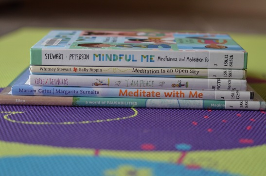 kids meditation books