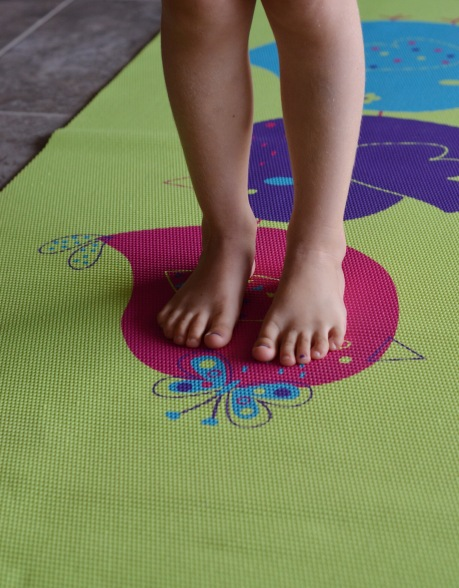 Kids Yoga Feet