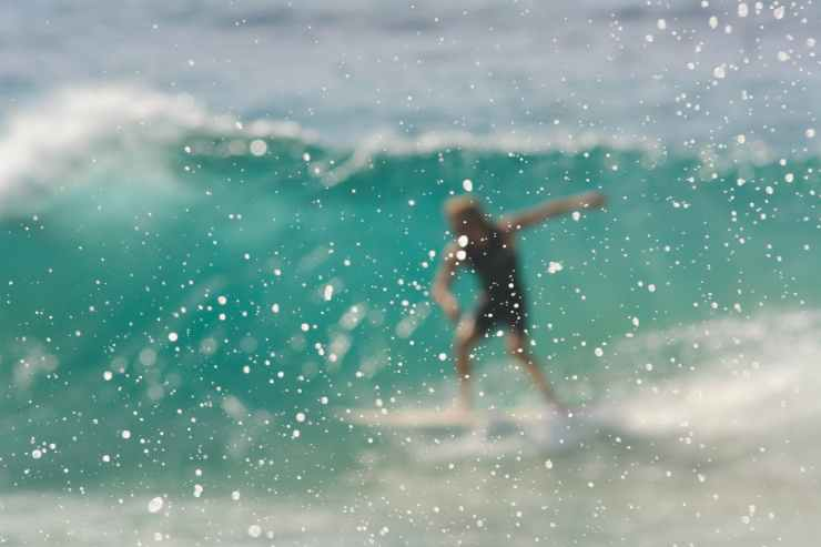 action action photography beach blur