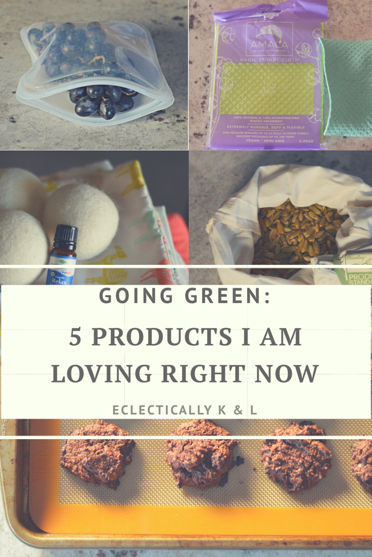 going green: 5 products